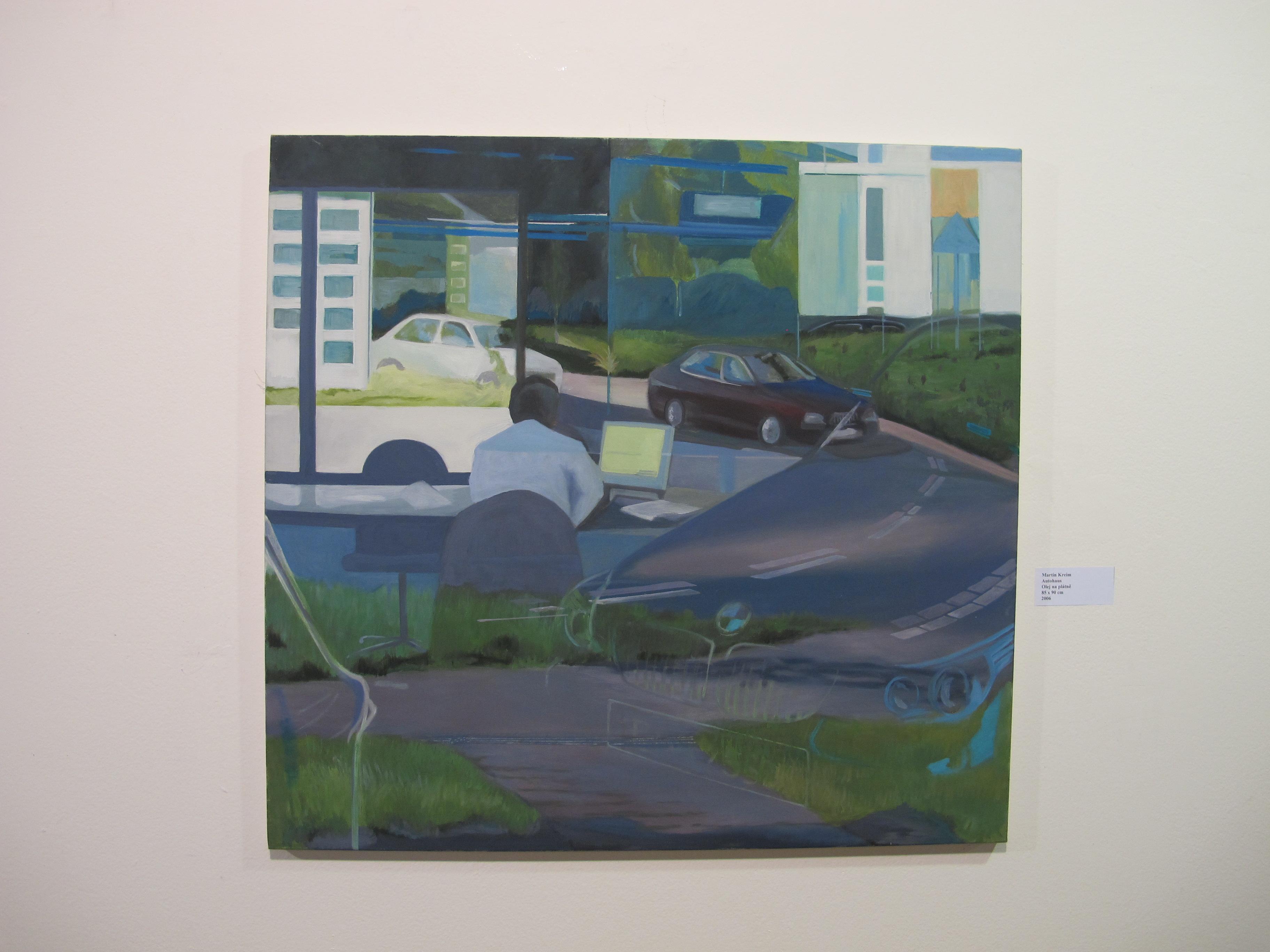 Martin Kreim, Autohaus
