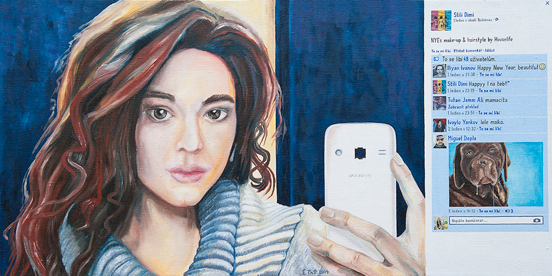 Edita Pattová- Facebook (Selfie)